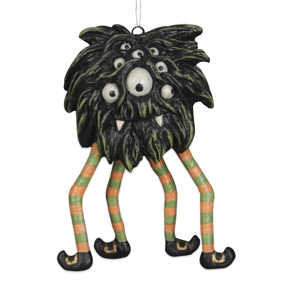 Swinging Spider Monster Ornament