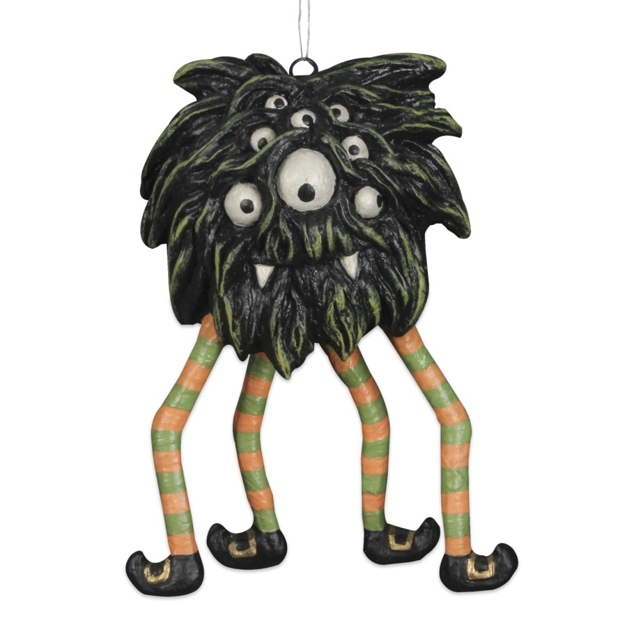 Swinging Spider Monster Ornament