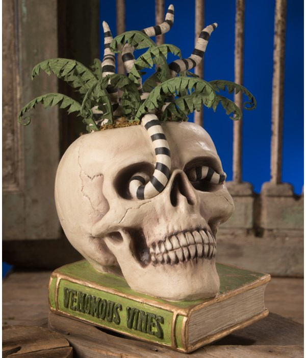 Venomous Vines Skull