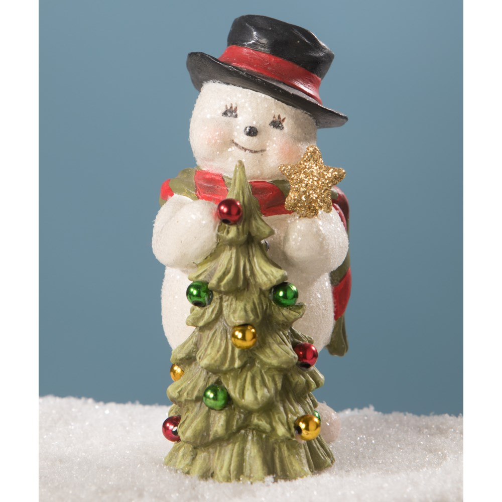 Trimming the Tree Snowman