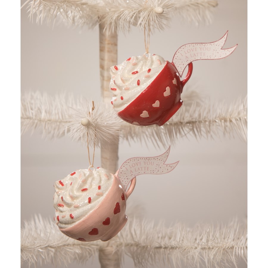 I Love You a Latte Ornament 2A
