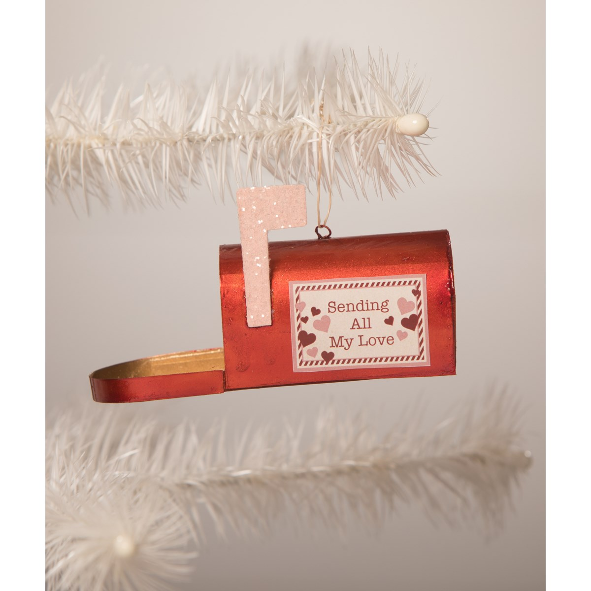 Sending My Love Mailbox Ornament