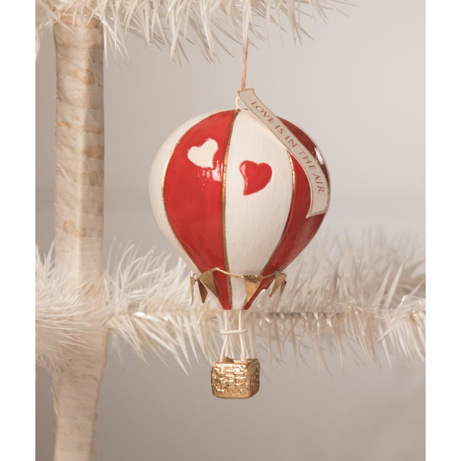 Love is in the Air Hot Air Balloon Ornament
