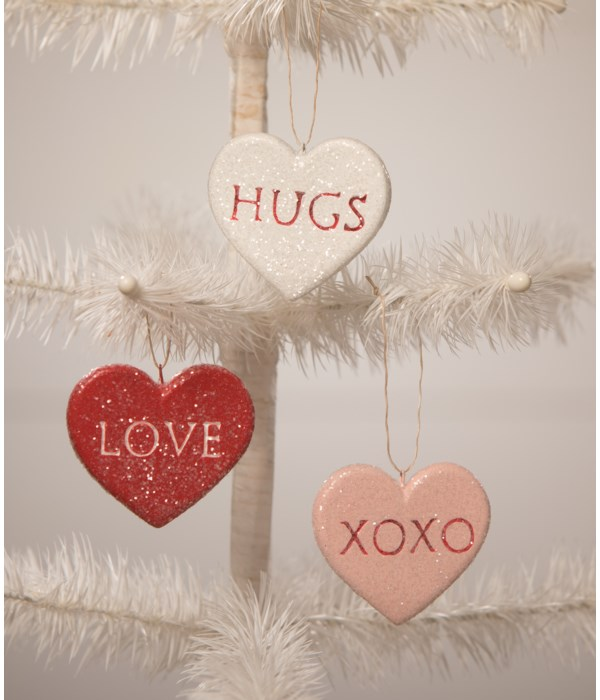 Candy Heart Ornament 3A