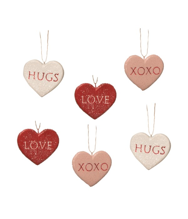 Candy Heart Ornament S6