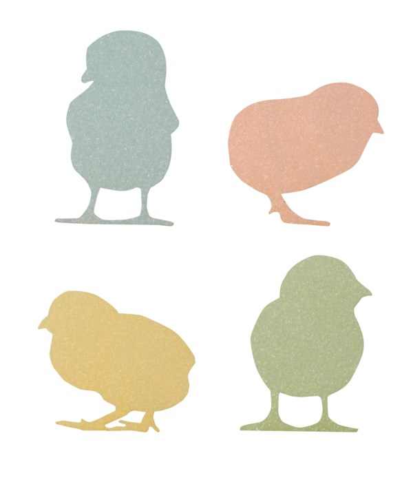 Pastel Chick Silhouette 4A