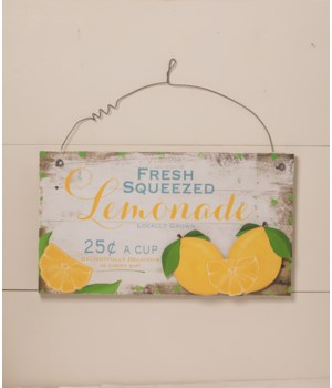 Fruit Stand Tin Sign
