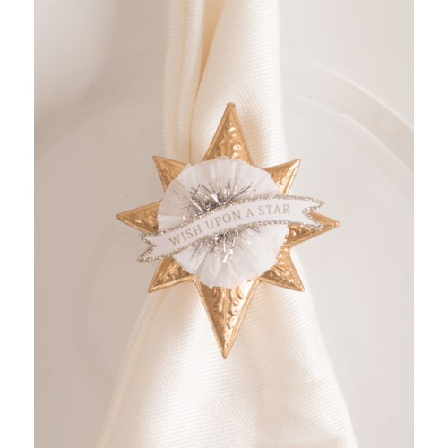 Wish Upon a Star Napkin Ring