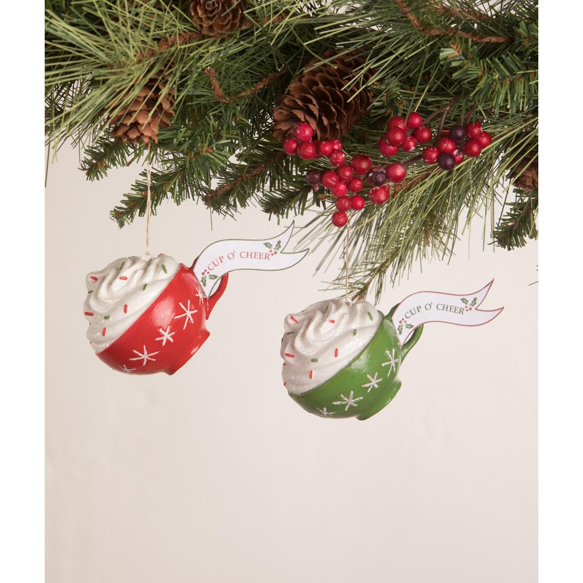 Cup O' Cheer Ornament 2A