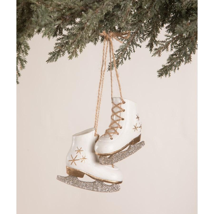 Ice Skate Pair Ornament