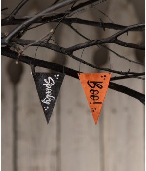 Halloween Banner Ornament 2A
