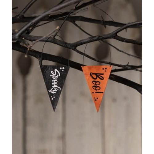 Halloween Banner Ornament 2A