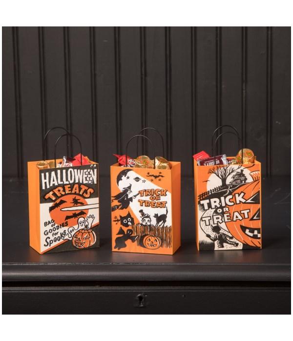 Tin Halloween Treat Bag 3A