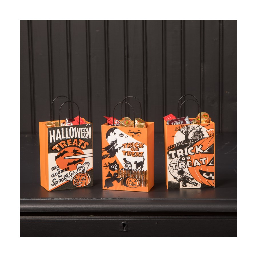 Tin Halloween Treat Bag 3A