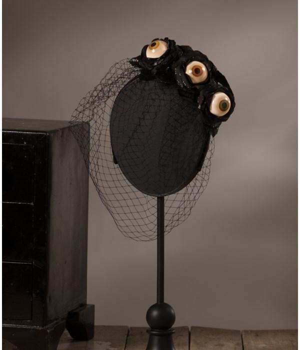 Eyeball Rose Headband