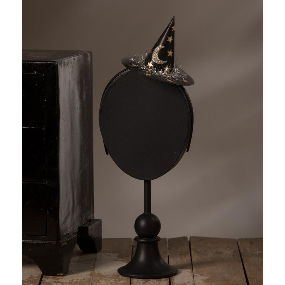 Moon and Star Mini Witch Hat Headband