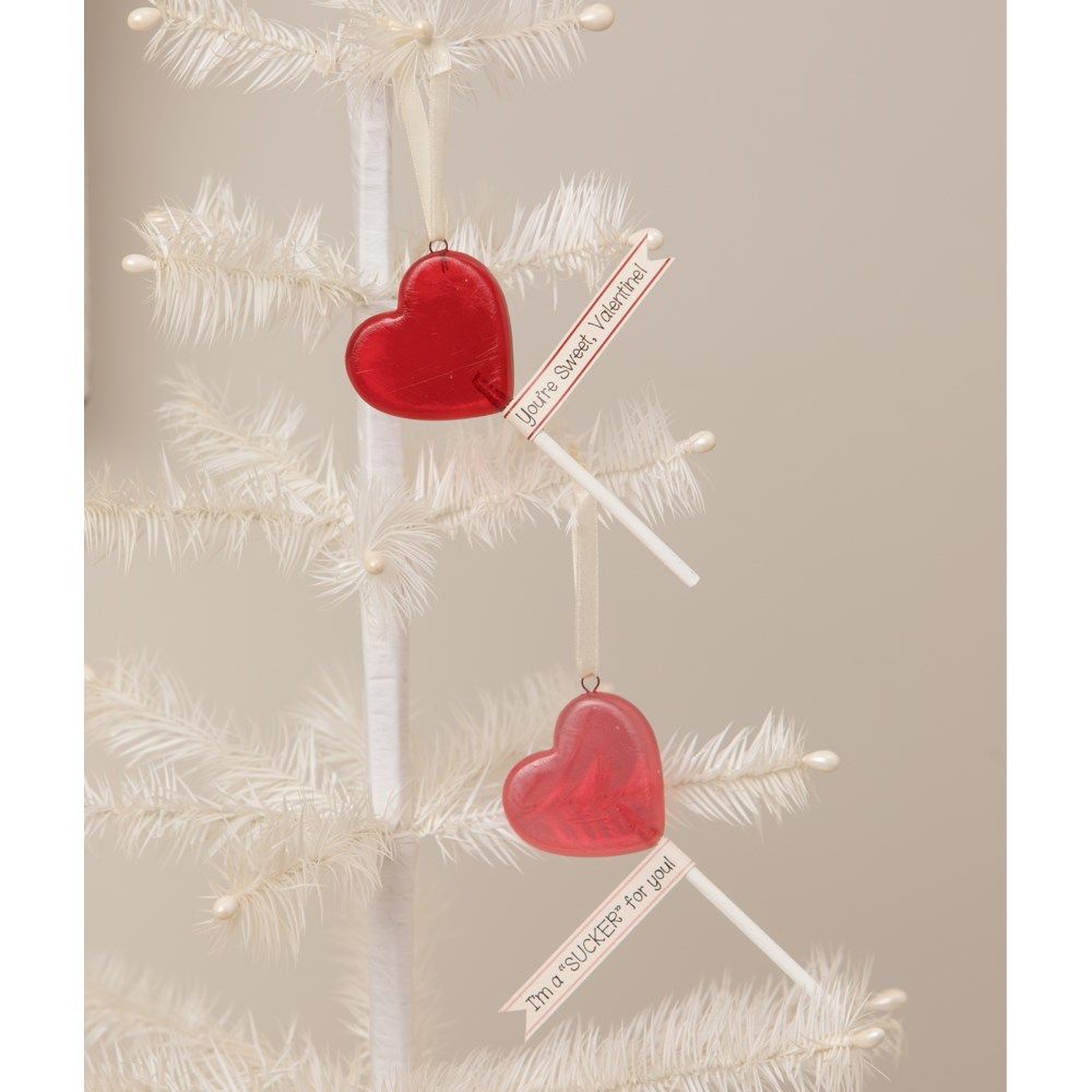 Valentine Lollipop Ornaments S2