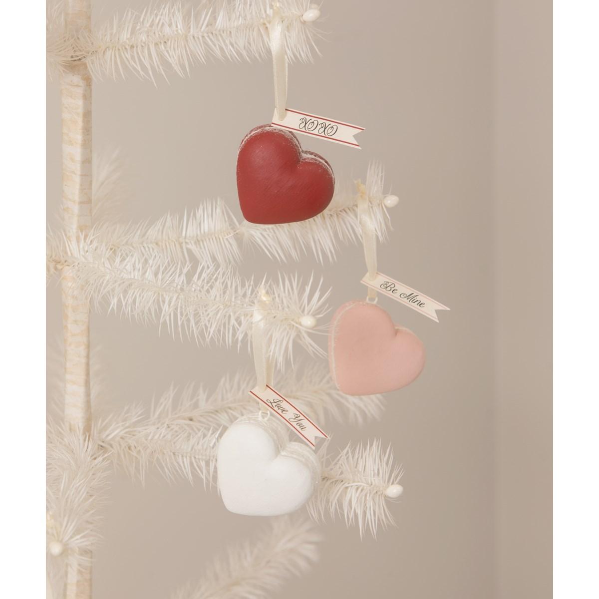 Heart Macaron Ornaments S3