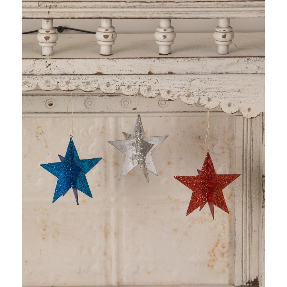 Americana Star Ornaments S3
