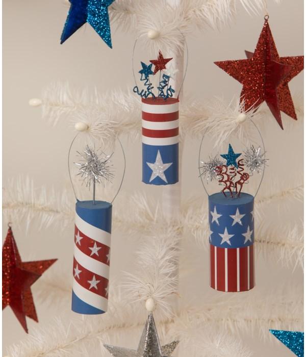 Firecracker Ornaments S3