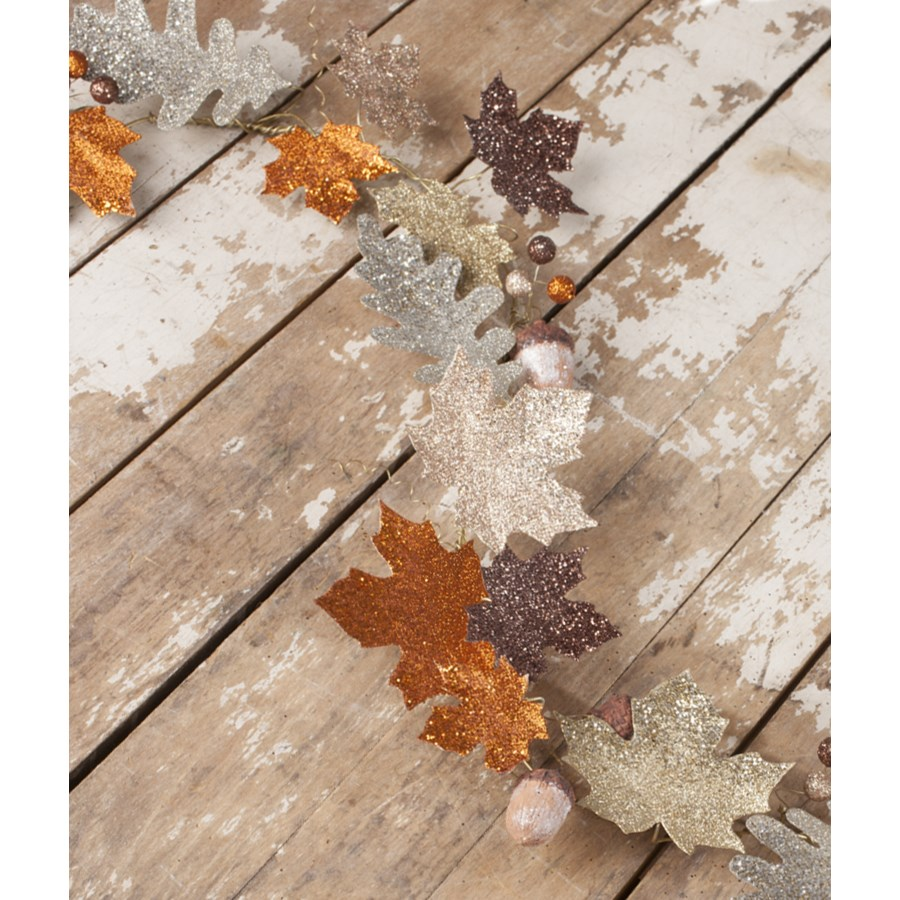 Elegant Fall Leaf Garland