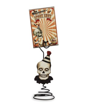 Halloween Big Top Place Card Holder With Card