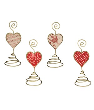 Valentine Place Card Holder 4/A