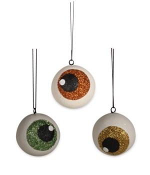 Spooky Eyeball Ornament 3A