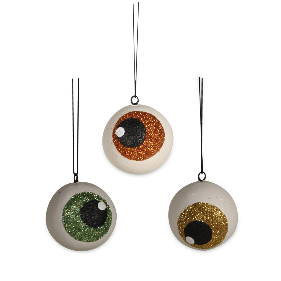Spooky Eyeball Ornament 3A
