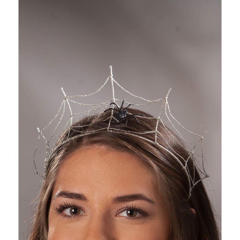 Silver Spider Tiara