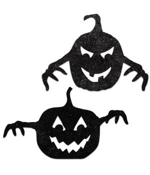 Spooky Pumpkin Silhouette 2A