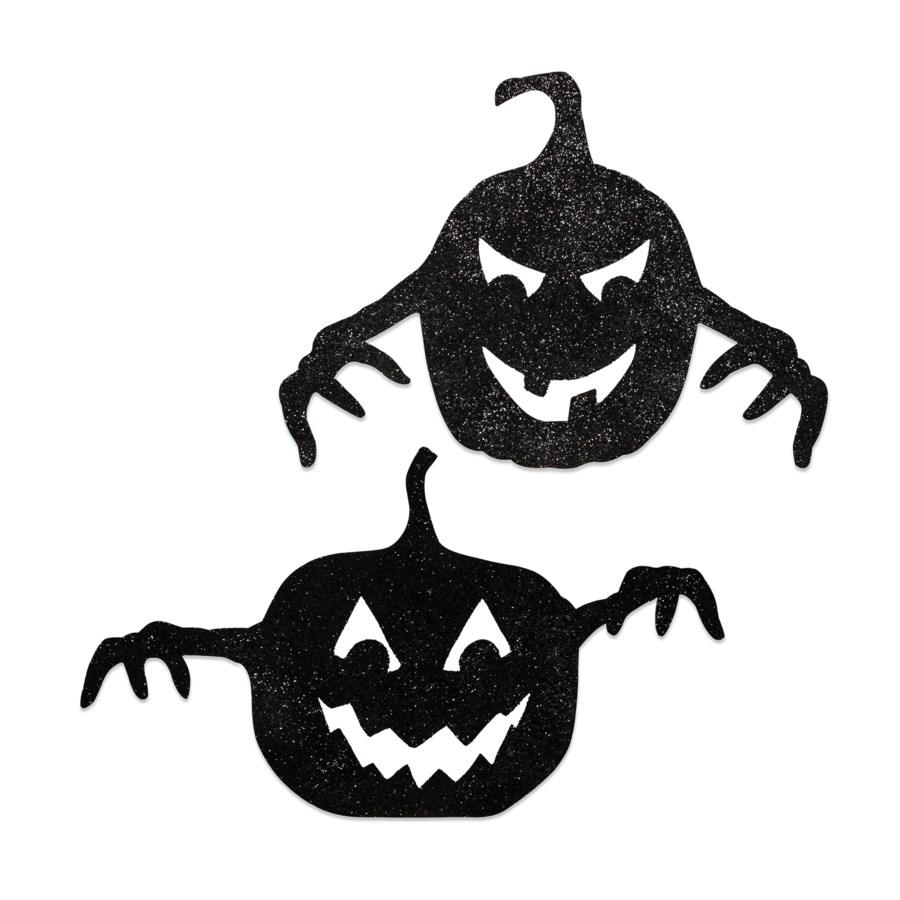 Spooky Pumpkin Silhouette 2/A