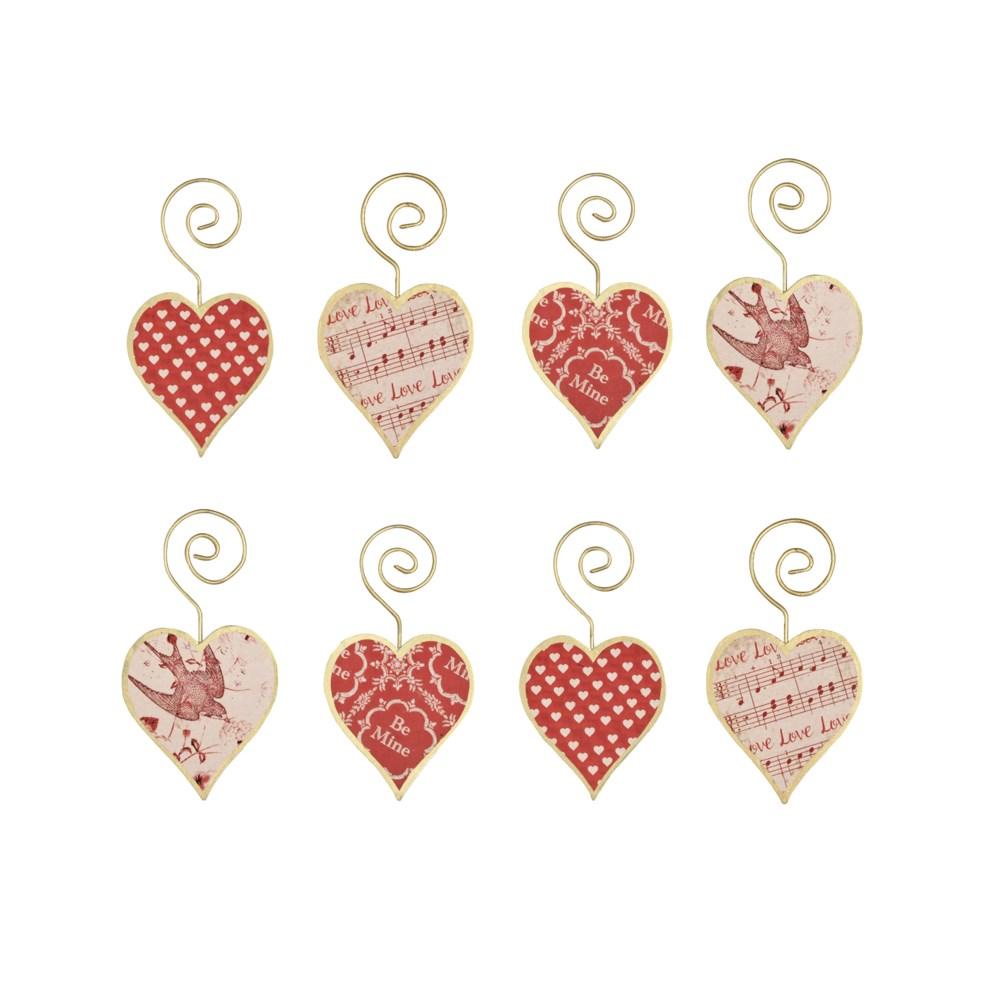 Tin Heart Ornament S8