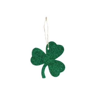 Tin Shamrock Ornament
