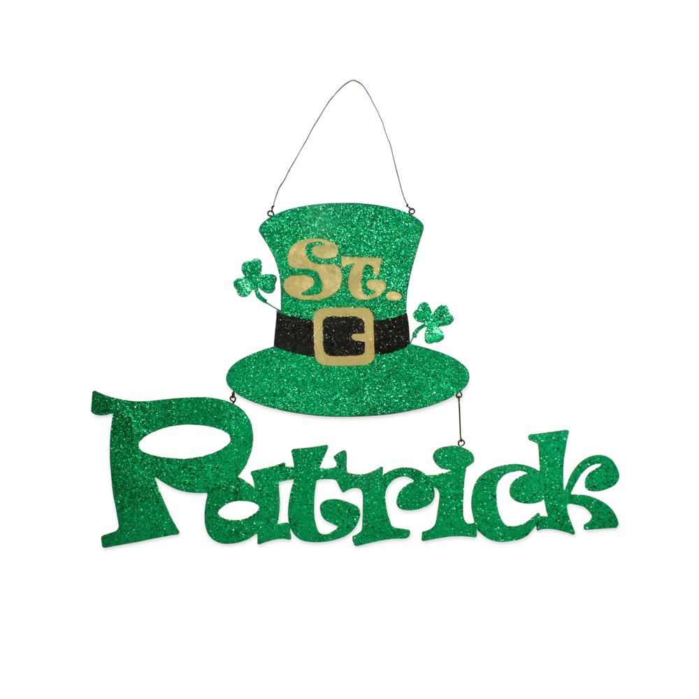 St. Patrick's Day Tin Sign