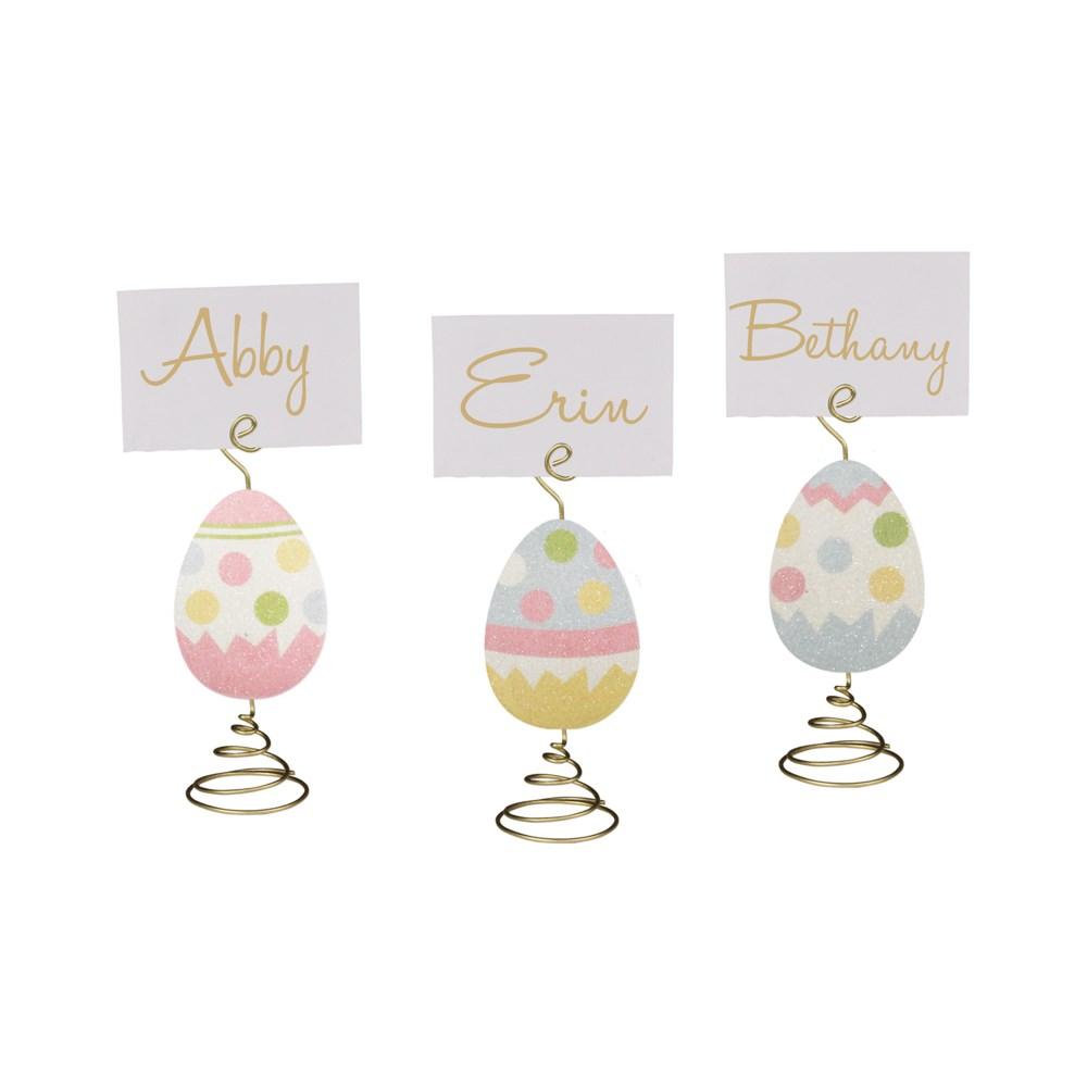 Easter Egg Place Card Holder 3A