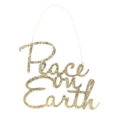 Peace on Earth Tin Sign