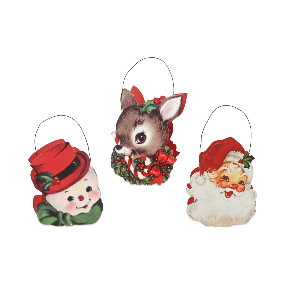Retro Christmas Buckets 3A