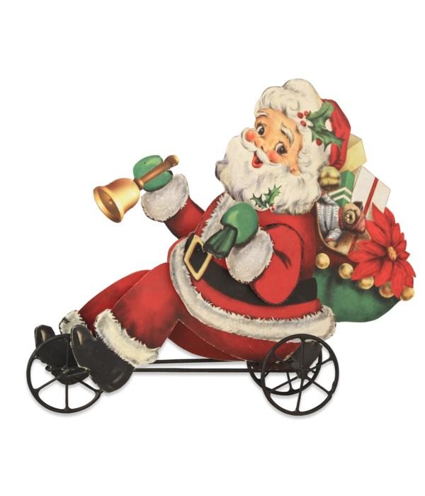 Santa on Trike