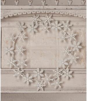 Snowflake Tin Wreath