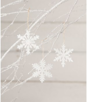 Snowflake Ornament 3/A