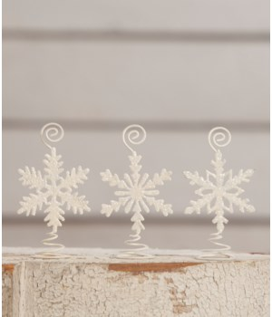 Snowflake Card Holder 3/A