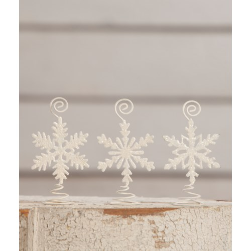 Snowflake Card Holder 3A