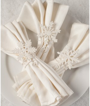 Snowflake Napkin Holder 3A