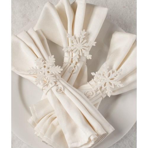 Snowflake Napkin Holder 3A