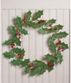 Holly Leaf Wreath