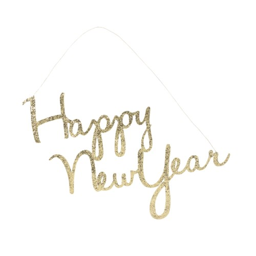 HAPPY NEW YEARS TIN SIGN
