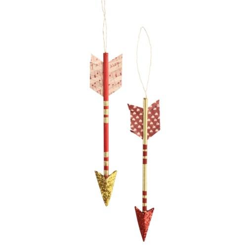 Valentine Arrow Ornament 2A