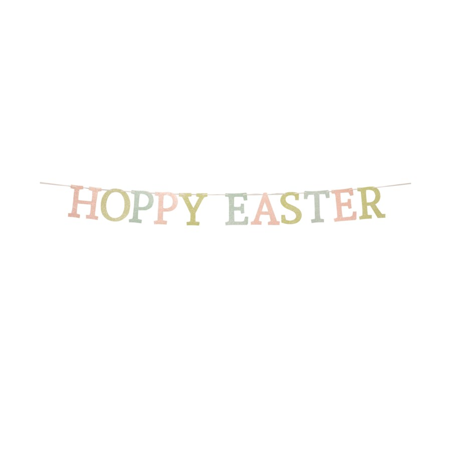 Hoppy Easter Garland