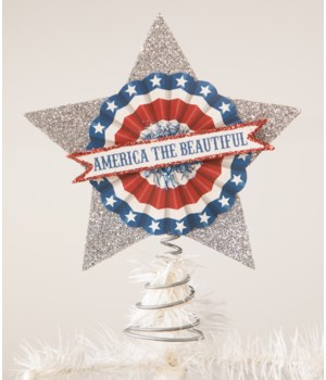 America the Beautiful Tree Topper